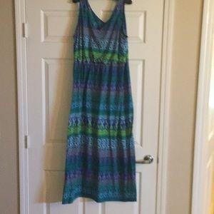 Dresses & Skirts - Long Print Dress, sleeveless, cool lounger